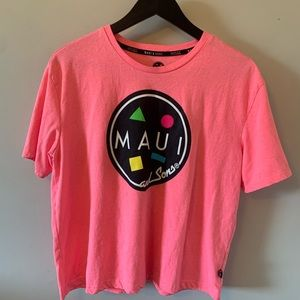 FREE ADD ON / MAUI & sons / Hot Pink / Graphic Tee